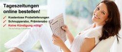 Tageszeitung deiner Wahl 14 Tage kostenlos testen (selbstkündigend)