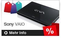 10 % Rabatt im Sony-Outlet-Store (z.B.: VAIO CA1für ca. 627 €)