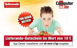 10€ Lieferando Gutschein (MBW 20€)