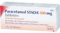 20 Paracetamol (500 mg) für nur 0,55 Euro
