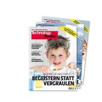 3 Ausgaben der Zeitschrift Technology Review kostenlos