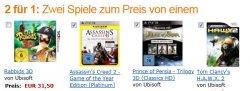 Amazon-Games-Aktion 2 für 1: Zwei Spiele zum Preis von einem
