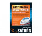 Bei Saturn 10,- Euro für die nächste Bahnfahrt sichern!
