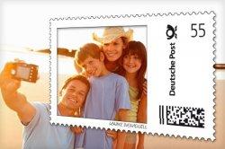 Deine Individuellen Briefmarken bei der Deutschen Post für 14 statt 28 €