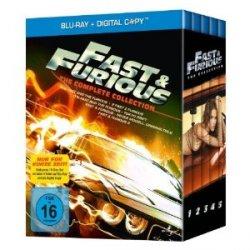 Fast & Furious 1-5 auf Blu-ray bei Amazon für 31,97