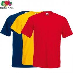 FRUIT OF THE LOOM Herren oder Frauen T-Shirt ab 2,50 Euro