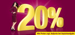 Germanwings Flugtickets ab 29,99 € inkl. Steuern und Gebühren