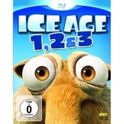 Ice Age – Box Set Teil 1-3 auf Blu-ray für 24,99€ versandfrei