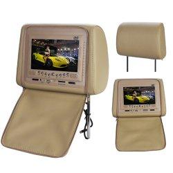 LCD Kopfstütze mit DVD-Player  + geeignet für 32-Bits Games für 63,92€