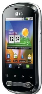 LG P350 OPTIMUS ME mit ANDROID 2.2, GPS, HSDPA und 3,2 MP Kamera. Inkl. Versand 79,90€