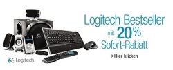 Auf Logitech Produkte 20% sparen bei Amazon
