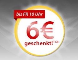 Meinpaket-Aktion: 6 Euro Rabatt ab 12 Euro Einkaufswert oder 12 Prozent Rabatt auf Alles