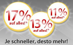 MeinPaket: Bis zu 17 % Rabatt ab morgen 10 Uhr