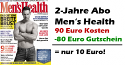 Men's Health-Abo, zum Hammerpreis!