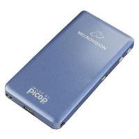 Microvision SHOWWX Pico Mini Laser Beamer für iPhone, iPod, iPad, Laptops und Geräte mit VGA