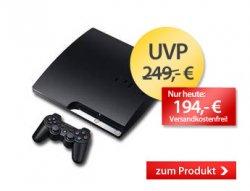 Playstation 3 (160GB) für 194€  statt 227€ VSK. Inkl.