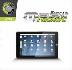 Point Of View Mobii Tablet 7 Zoll 16GB Android 2.1 -Tablet nur 59,99 € incl. VSK