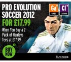 Pro Evolution Soccer 2012 (PS3, Xbox) + 2er Pack Henleys Shirts für 39€