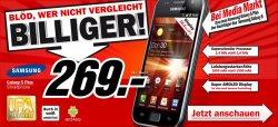 Samsung Galaxy S Plus für 269€ im MediaMarkt