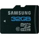 Samsung microSDHC Karte 32GB Class 10 mit Adapter für nur 28,80 zzgl. 4,95 Versand