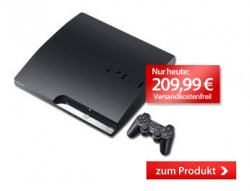 Sony Playstation 3 320GB 209,99€ inkl. Versand