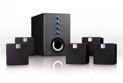 """SPEEDLINK 5.1 Surround Heimkino System aktiv Lautsprecher SET """"FAME"""" perfekt ausgewogenes Klangbild und wuchtige Bässe für 39,99€ VSK-frei"""