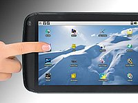 "TOUCHLET Tablet-PC X2 mit Android 2.2 & 17,8cm/7""-Touchscreen für 129,90"