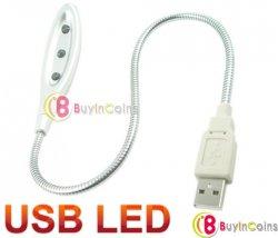 USB-LED-Leuchte nur 1,06 € (inkl.Vesand) ideal für Notebookbesitzer