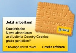150g Packung Leibniz Country GRATIS bei Deutsche Post