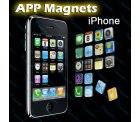 18 iPhone-App-Magnete nur ca. 3 € versandkostenfrei
