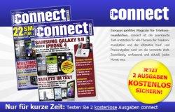 2 Ausgaben Connect gratis