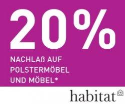 20 % Rabatt auf Möbel und Polstermöbel (bis 17.10.2011)