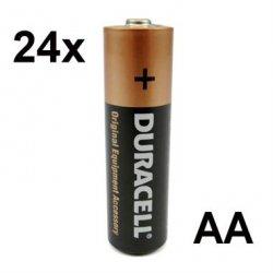 24er Karton DURACELL Alkaline Batterien AA für nur 3,87 Euro!