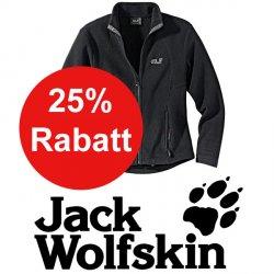 25% auf alles von Jack Wolfskin bei Sportsprofi ohne Versandkosten