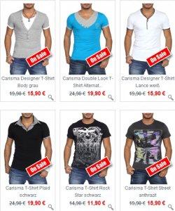 40% auf alle Shorts / 20% auf alle T-Shirts bei YANCOR