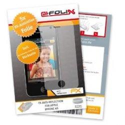 5 Stück Antireflex Displayschutzfolie für Apple iPhone 4S / iPhone4S nur 4,99€ versandfrei