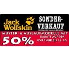 50% Rabatt auf Jack Wolskin Jacken Muster- und Auslaufmodelle