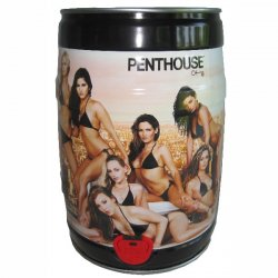 5x Penthouse Bier 5 Liter Partyfass nur 29.98 inkl. Versand