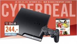 [Offline-Deal] ab Donnerstag: Playstation 3 320GB mit Fifa 12 und Controller für nur 244,- Euro