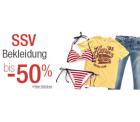 Amazon: SSV auf Bekleidung mit bis zu 50% Rabatt