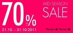 Bis zu 70% im Sale plus 10 Euro Gutschein und Versandkostenfrei bei Guna.de