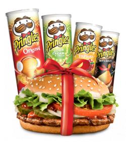 Burger King 1 Whopper Jr. oder 1 Country Burger gratis auf jeder Pringles Dose