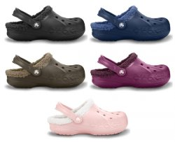 Crocs Baya Lined Mammoth Fell Edition in 5 versch. Farben für 29,95 €