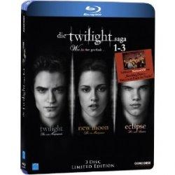 Die Twilight Saga 1-3 -Limitierte Edition mit 3 Blu-rays für nur 20,99€ Incl. Versand bei Amazon zum Vorbestellen (UPDATE)