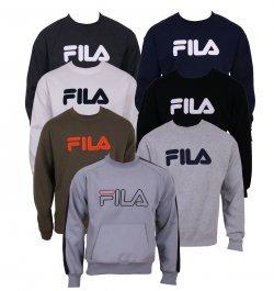 Fila Herren Crew Neck Sweatshirt verschiedene Farben für 19,95 €