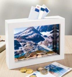 Foto-Spardose / Bilderrahmen für nur 6,90 € bei ebay