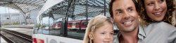 Für 12€ mit der Bahn durch Deutschland. (auch ICE)