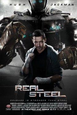 """Gratis Kino ab 14.00 Uhr am 27.10 2011 bei Bild.de: 2 Tickets für """"Real Steel"""" Preview in 8 Städten am 31 Oktober sichern!"""