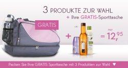 GRATIS Sporttaschen mit 3 Produkte ihrer Wahl von YVES ROCHER für 12,95€