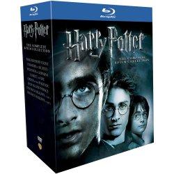 Harry Potter 1-8 @Amazon.UK – Die kompletten 8 Teile (inkl. 7.1 und 7.2) auf Blu-ray für ca. 39,30 €